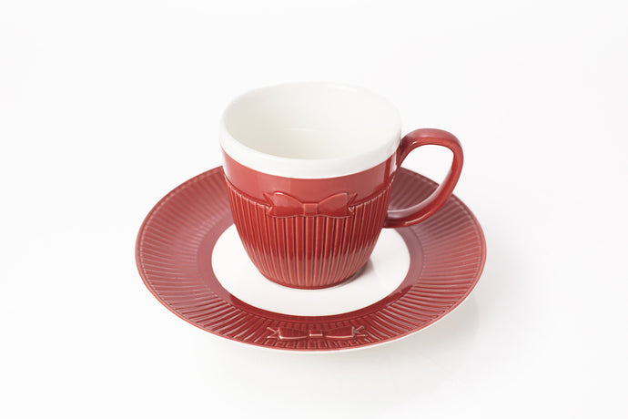 S/6 TEA/COFFEE CUP & SAUCER 7.0 OZ