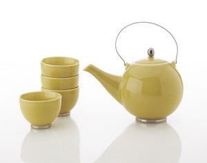 Japanese Porcelain Tea Set (Yellow)
