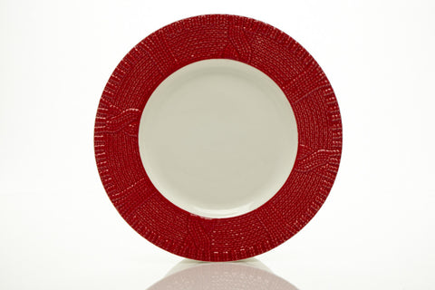 "Red Plates 8.5"" (Set of 6)"