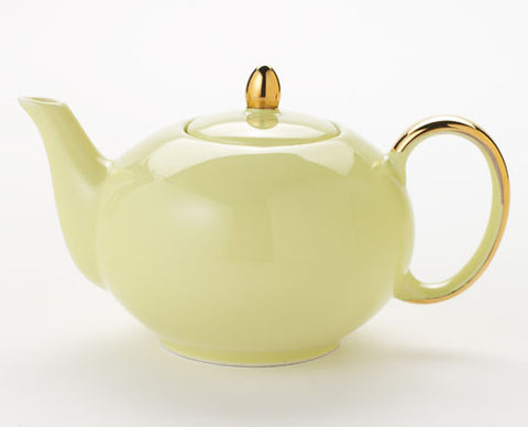 Solid Yellow Teapot