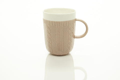 TAUPE MUGS 10OZ. (Set of 6)
