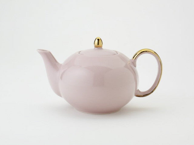 Solid Pink Teapot