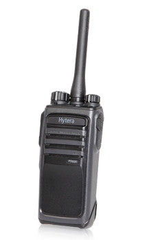 HYTERA PD505 LICENCE FREE ANALOGUE / DIGITAL RADIO & CHARGER
