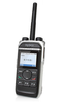 HYTERA PD665 GPS ANALOGUE / DIGITAL RADIO & CHARGER