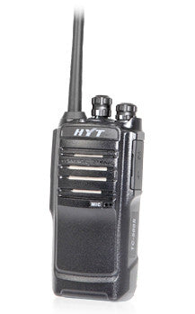 HYT TC446s LICENCE FREE ANALOGUE RADIO & CHARGER