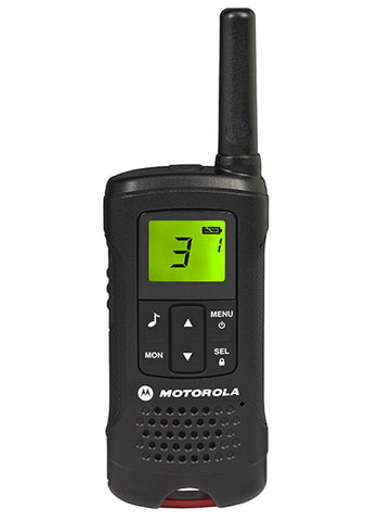 MOTOROLA T60 TWIN PACK LICENCE FREE RADIOS & CHARGER