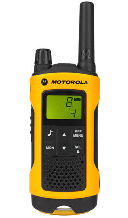 MOTOROLA T80 XTREME QUAD PACK LICENCE FREE ANALOGUE RADIOS & CHARGER