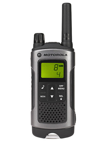 MOTOROLA T80 TWIN PACK LICENCE FREE RADIOS & CHARGER