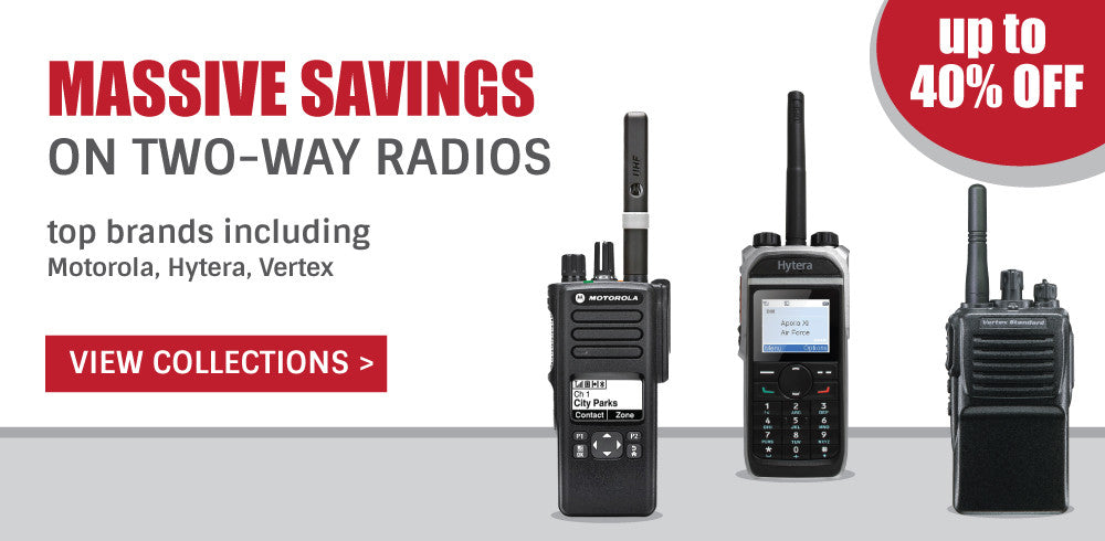 Massive savings on Two-way radios