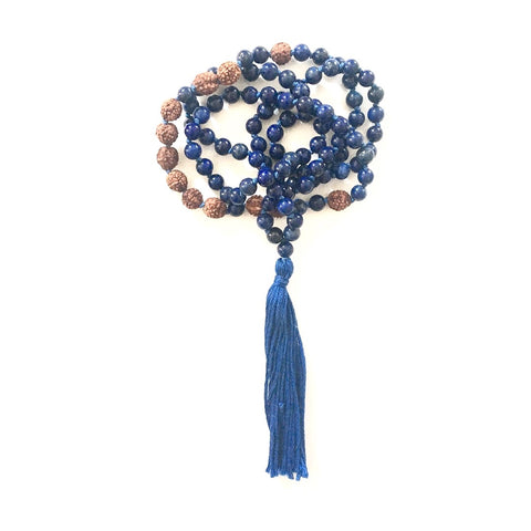 Throat Chakra Mala - Express Your Truth