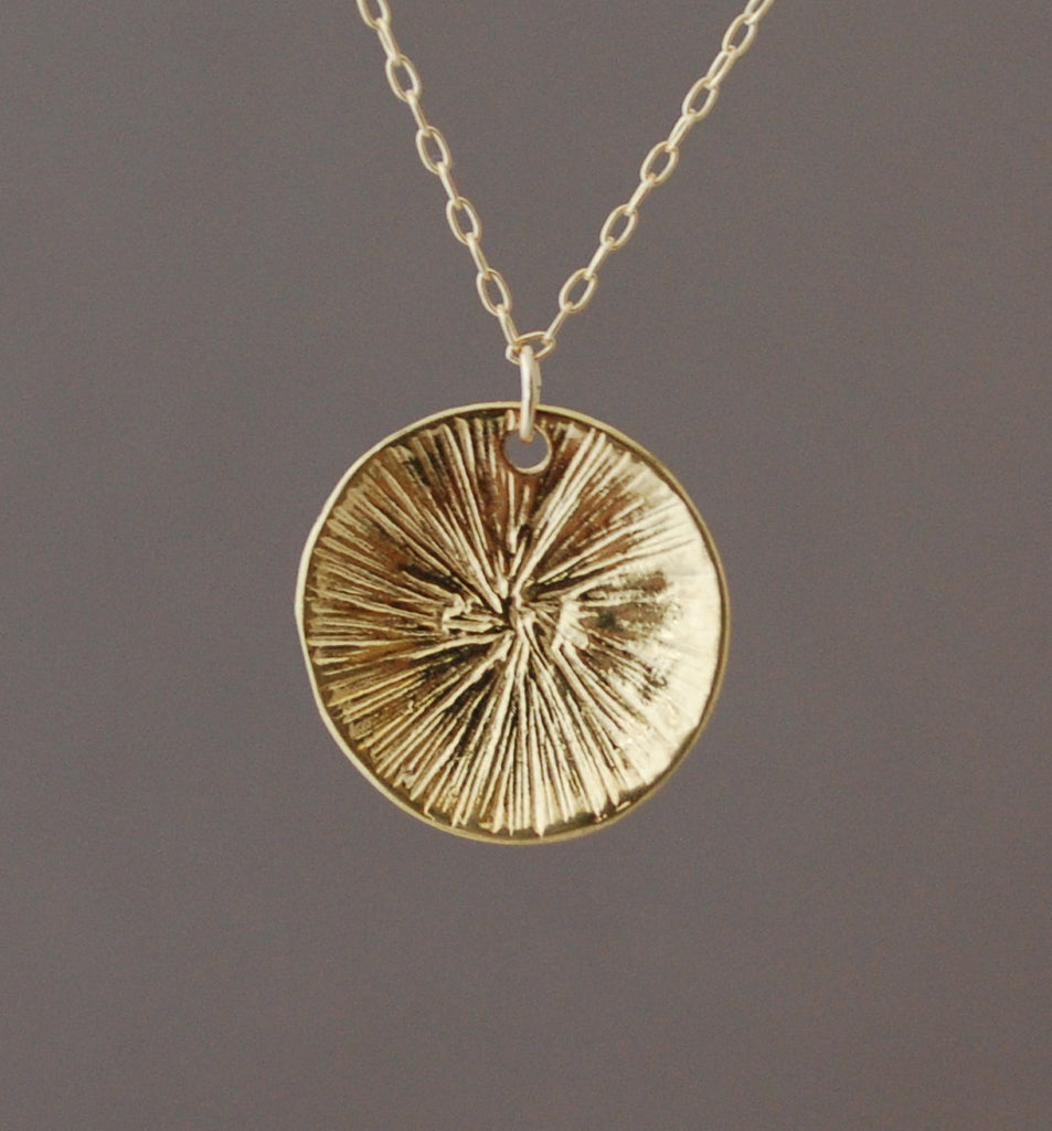 Sun Disc Necklace