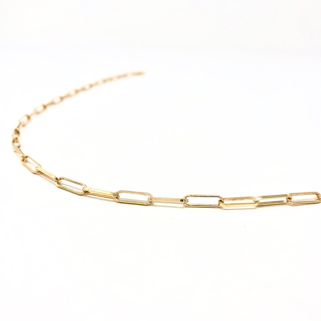 Gold Fill PAPERCLIP Necklace
