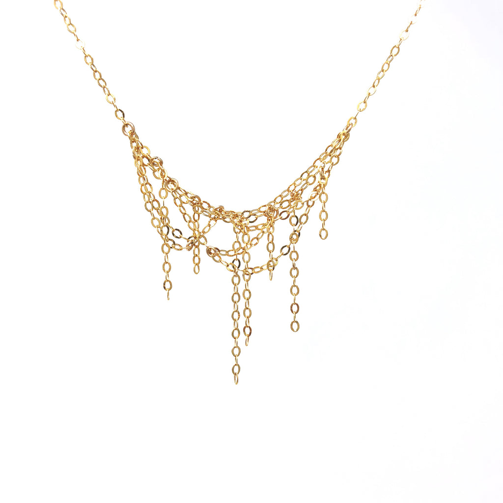 Tangled Chain Gold Fill Necklace also in Rose Gold Fill and Sterling Silver