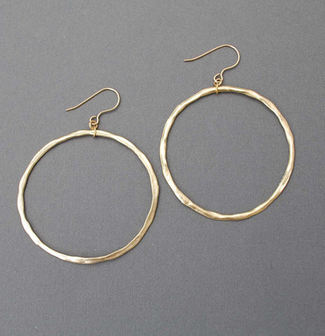 Classic Circle Hoop Earrings