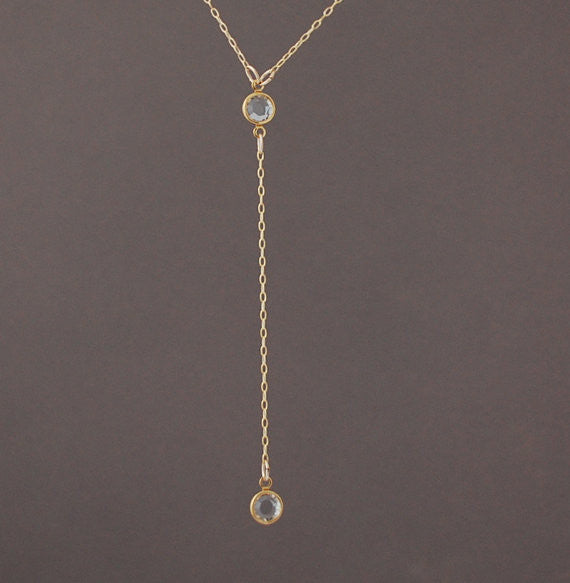 Rosary Swarovski Crystal Necklace