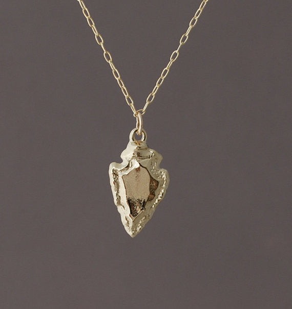 Small Arrowhead Necklace