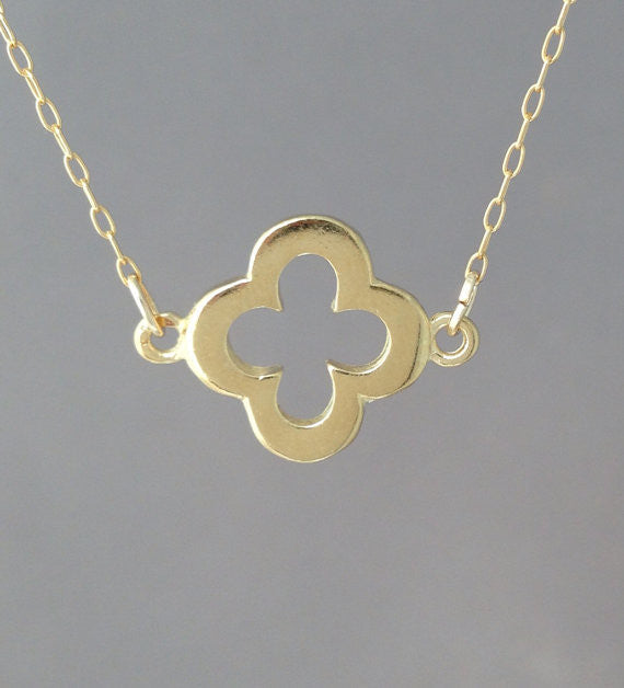 Thicker Clover Necklace