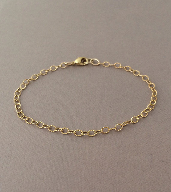 Twisted Chain Link Bracelet