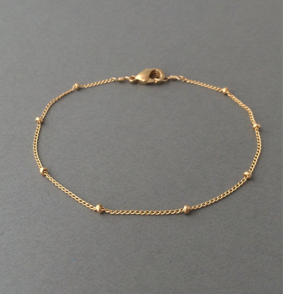 Satellite Chain Layering Bracelet