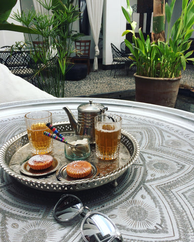 tea and biscuits moroccan style