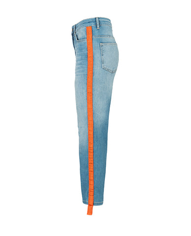 orange yaya denim