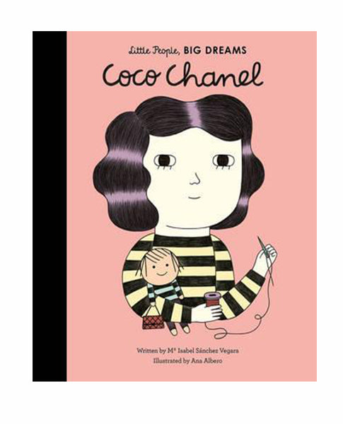 Book Little People Big Dreams Coco Chanel | Biscuit Clothing
