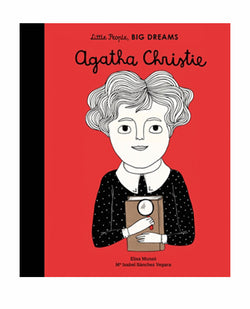 Book Little People Big Dreams Agatha Christie | Biascuit Clothing