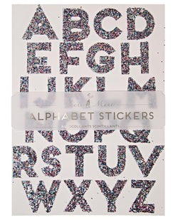 Meri Meri Multi Glitter Stickers