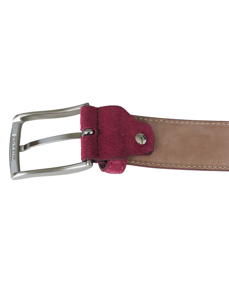Fioriblu Papavero Belt Bordeaux
