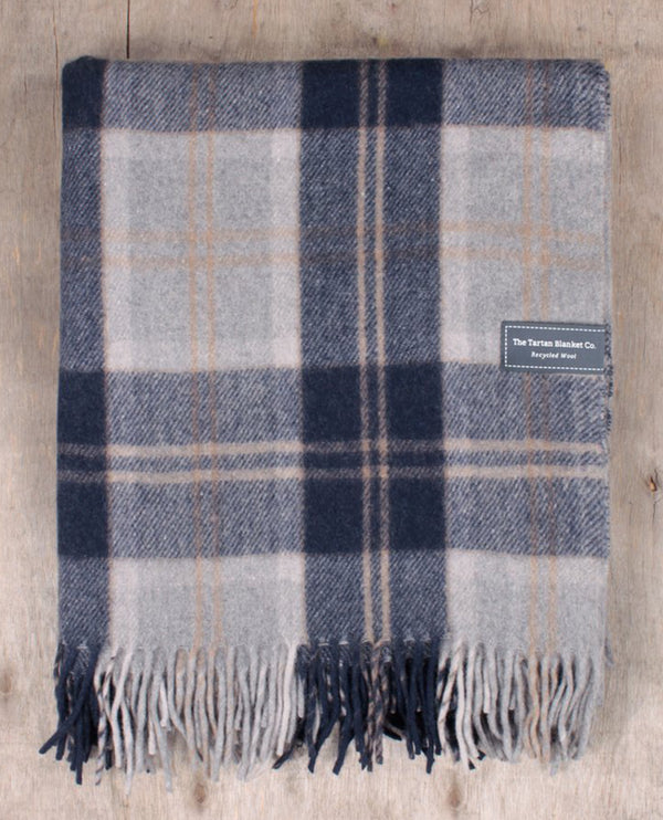 Tartan Blanket Co. Recycled Wool Bannockbane Blanket