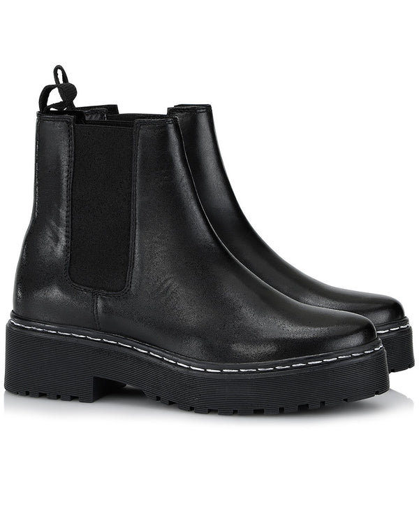 Shoe Biz Belize Black Boots