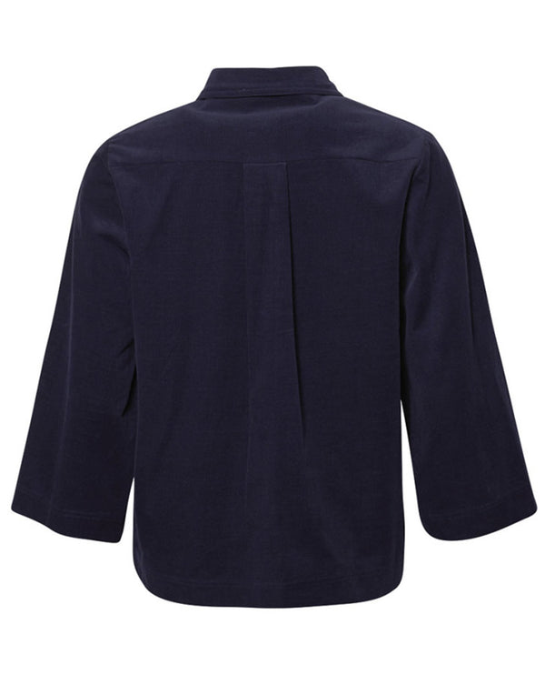 Love Child Elba Navy Blouse