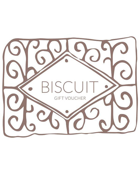 Biscuit Gift Card Voucher present for online discount | Biscuit Clothing