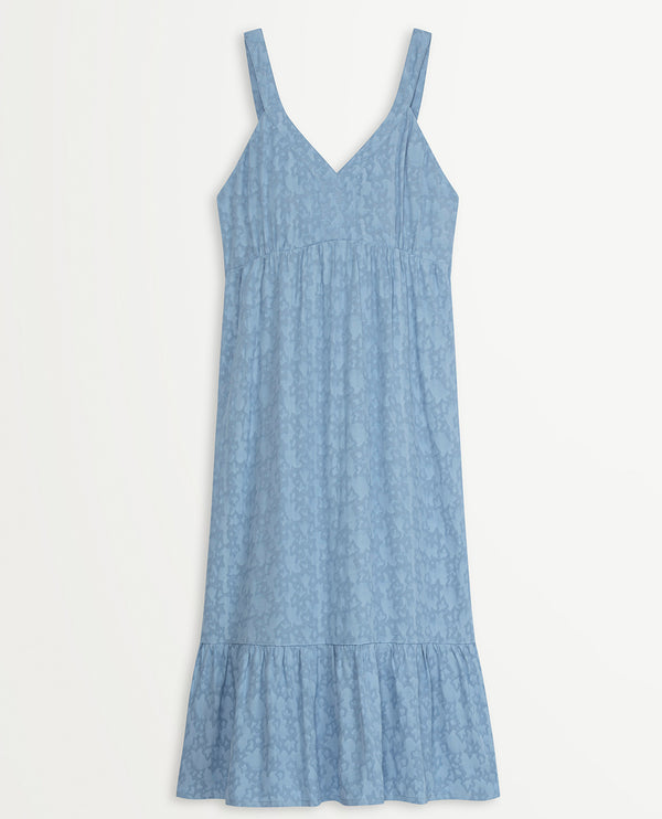 Suncoo Casilda Blue Dress