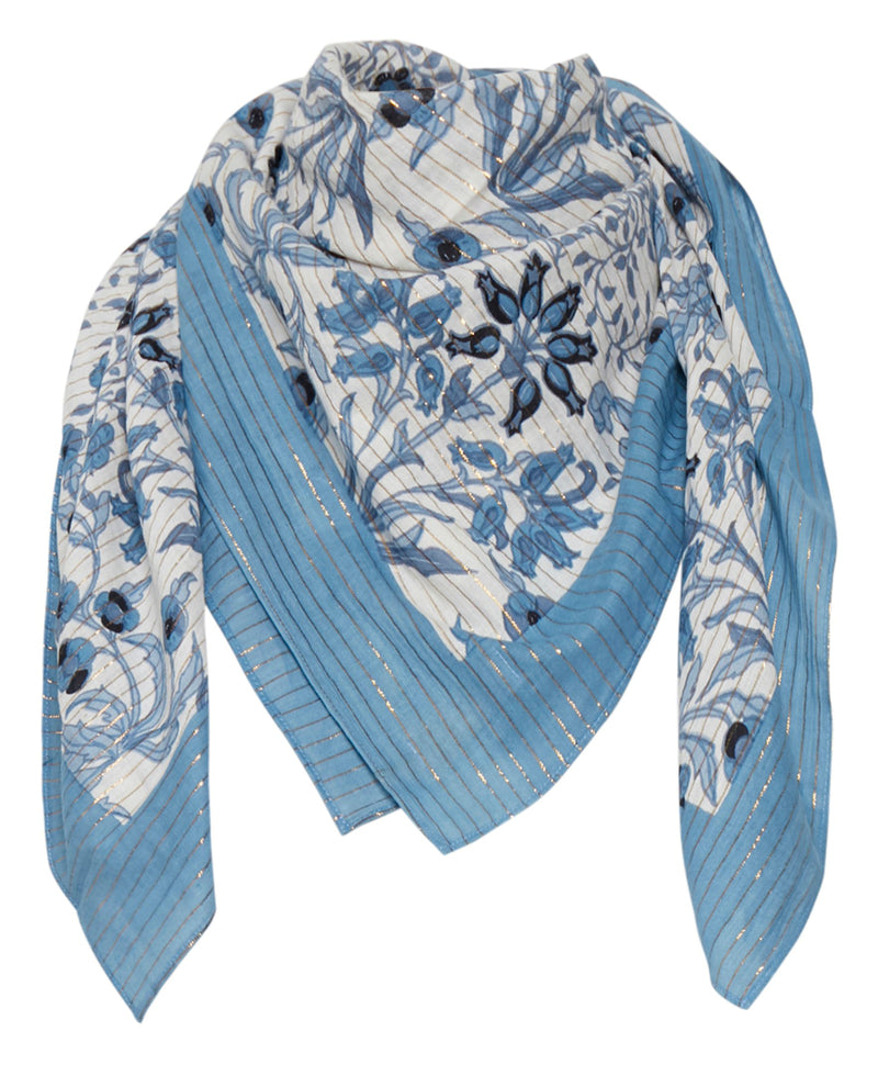 Part Two Adia Blue Scarf