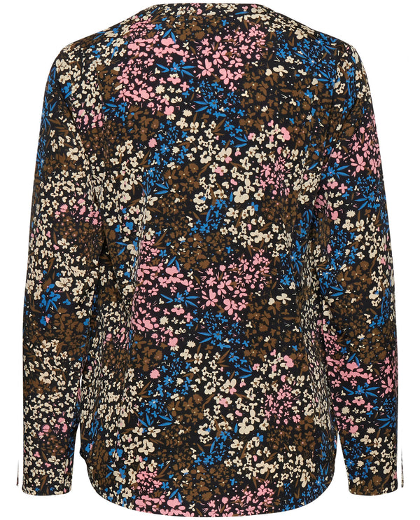 Ichi Bruce Riviera Floral Blouse