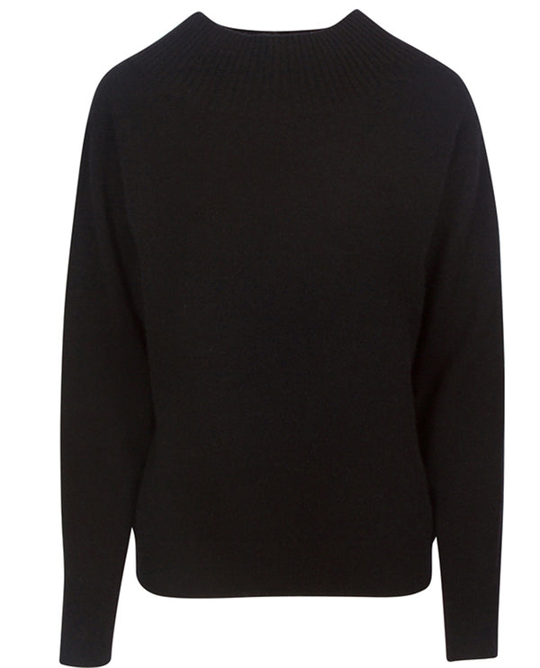 360 Cashmere Carlin Black Knit