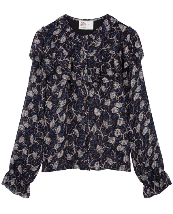 Leon and Harper Cendrine Poison Blouse