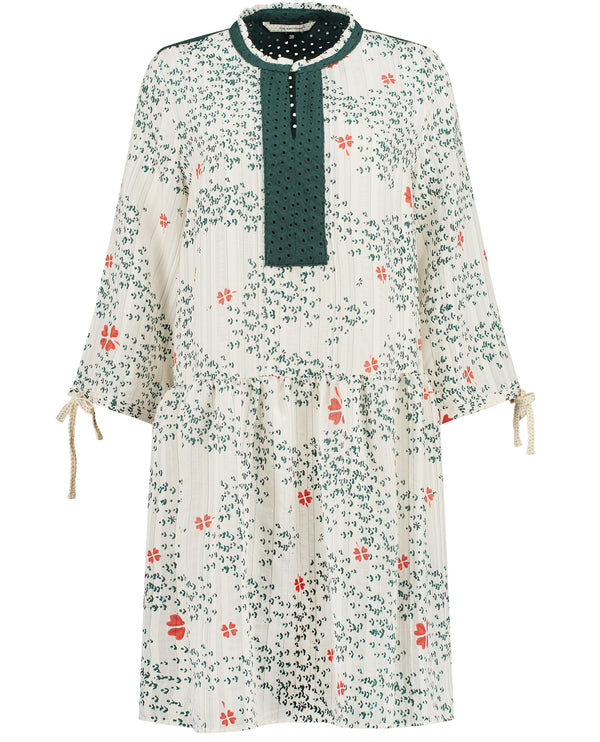 Pom Amsterdam Clover Hearts Dress