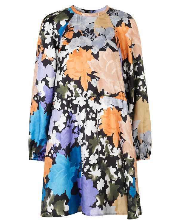 Stine Goya Coco Flora Silk Dress