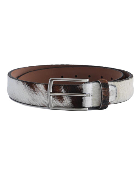 Fioriblu Brown Cow Furry Belt