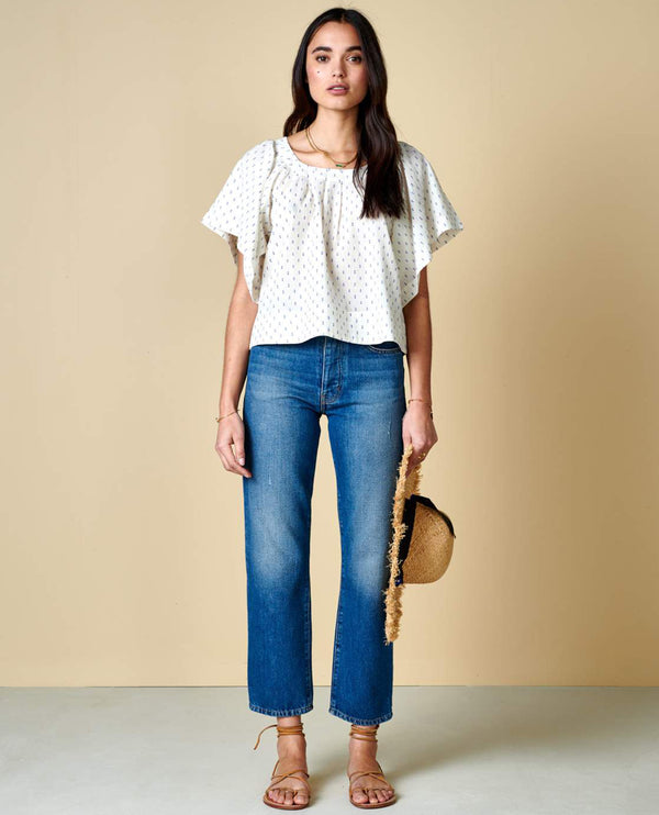 Bellerose Diata Embroidered Top
