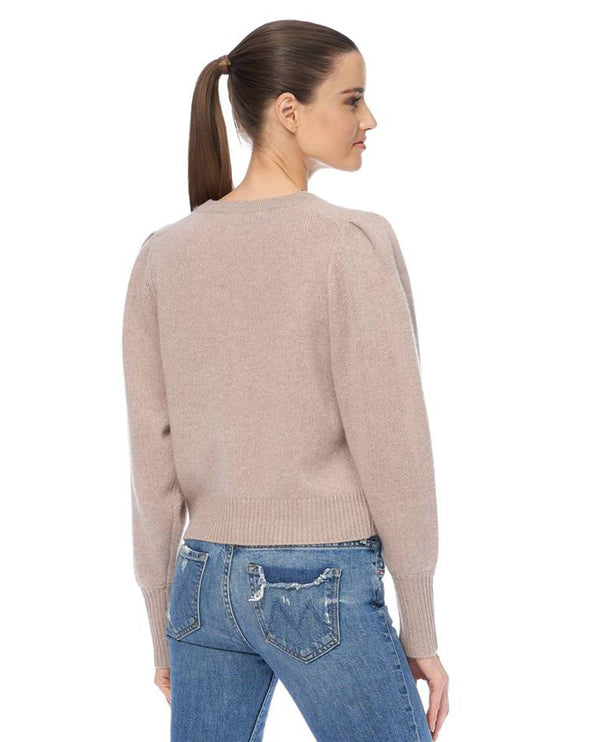 360 Cashmere Paisley Adobe Pink Cardigan
