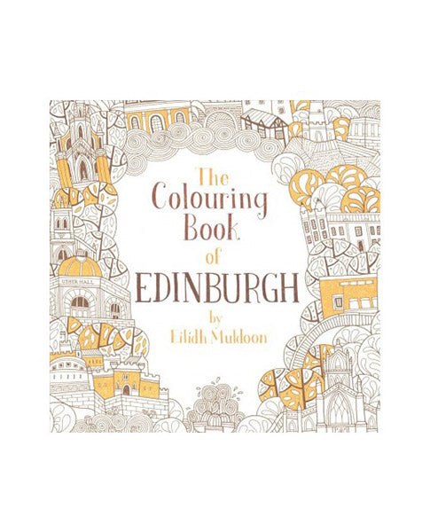 Edinburgh Colouring in book | Biscuit Clothing
