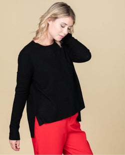 Absolut Cashmere Kenza Black Knit