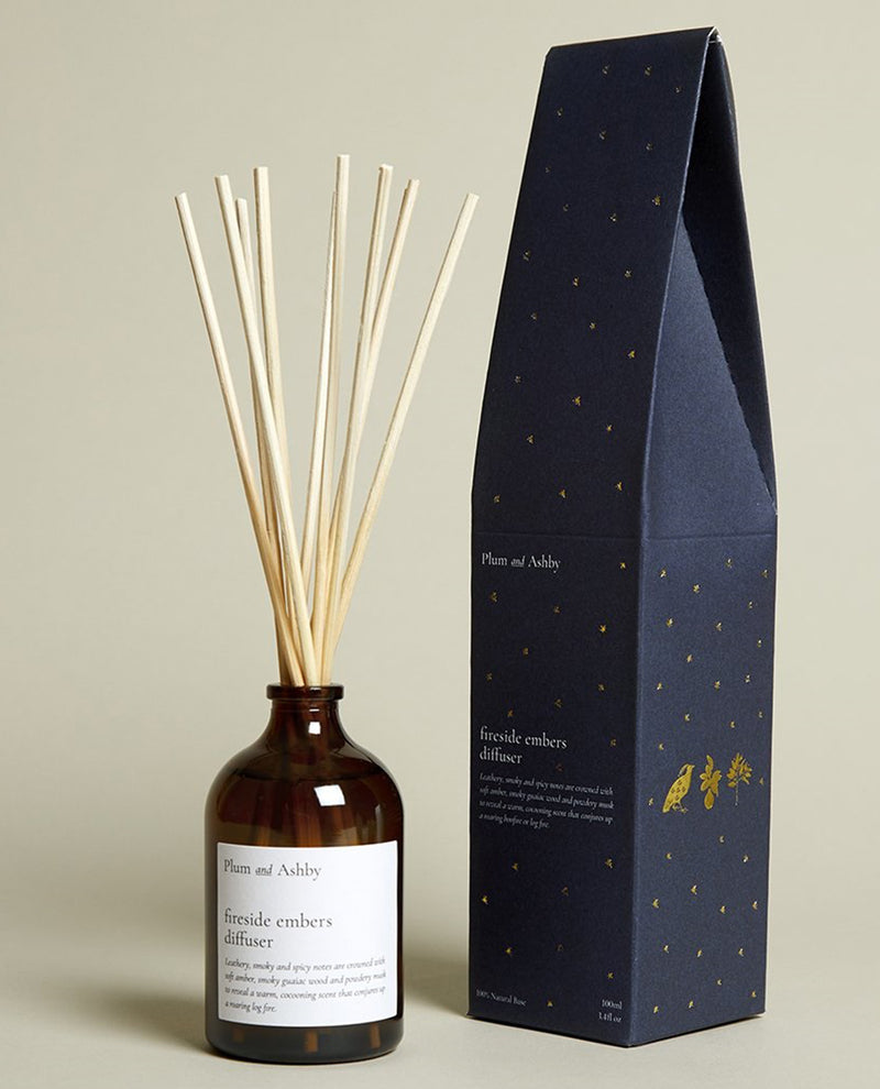 Plum and Ashby Christmas Fireside Diffuser
