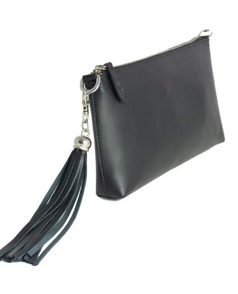 Fioriblu Forget Me Not Clutch Black