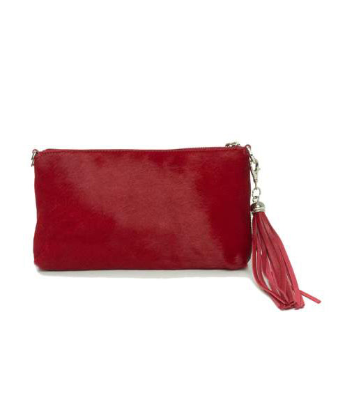 Fioriblu Forget Me Not Clutch Red