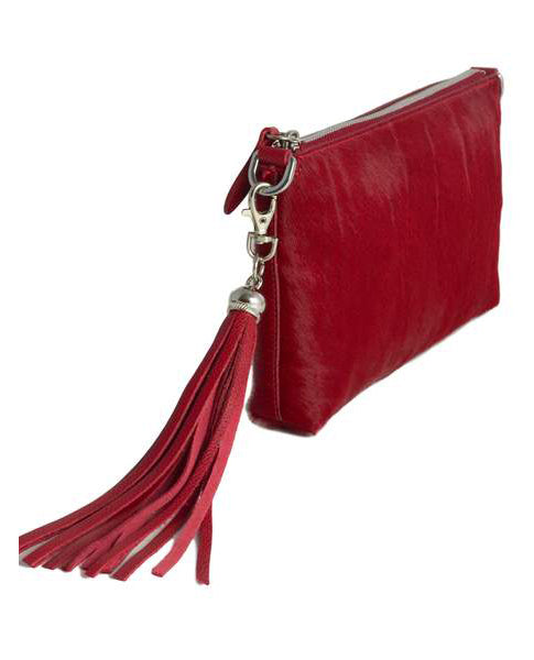 Fioriblu red Ladies Leather Cross body clutch bag slim purse | Biscuit Clothing Edinburgh