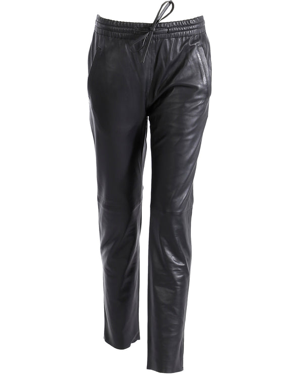 Oakwood Gift Black Leather Trousers